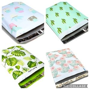 100 (10 x 13) poly mailers
